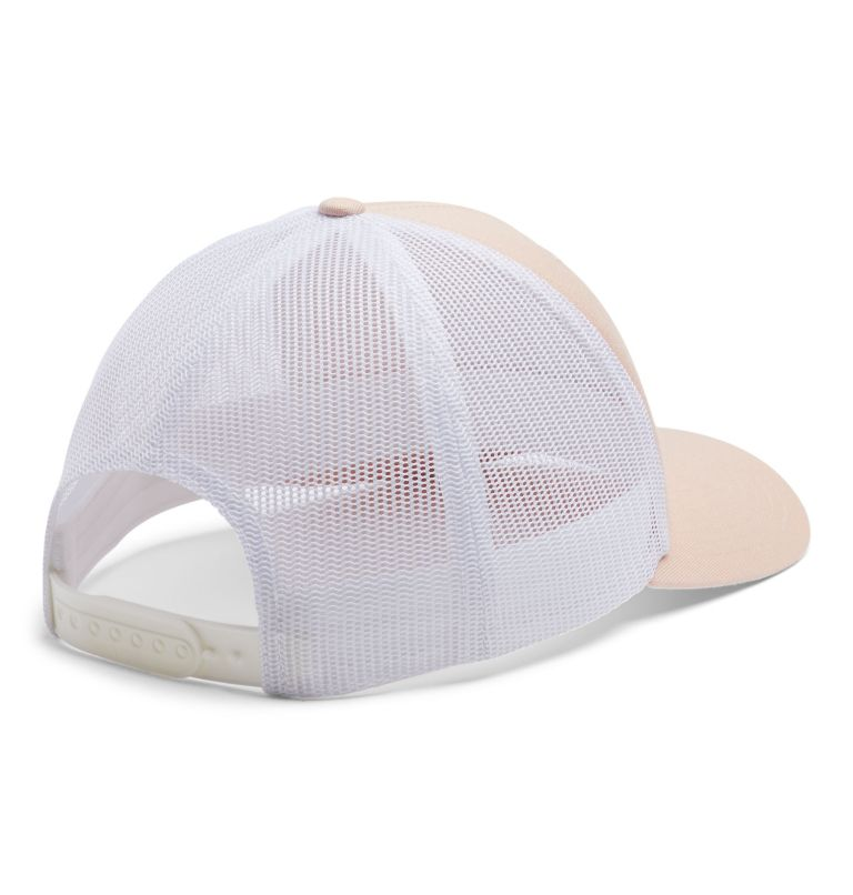 Columbia Mesh™ Snap Back Hat | 870 | O/S Columbia Mesh™ Snapback Hut, Unisex, Peach Cloud, Outsider Patch, back