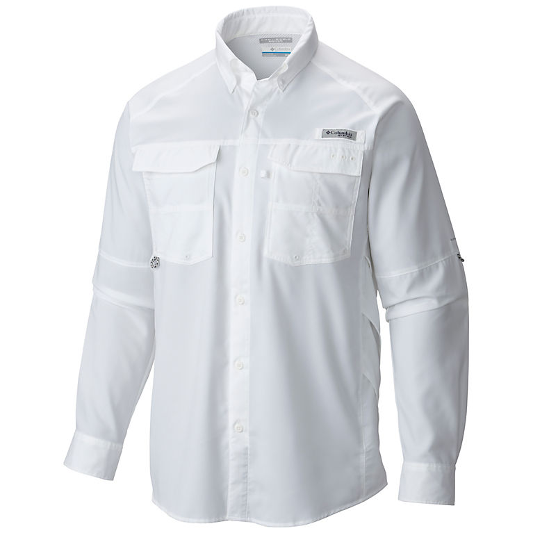 XXL Men/'s Columbia Blood /& Guts Long Sleeve Fishing Shirt