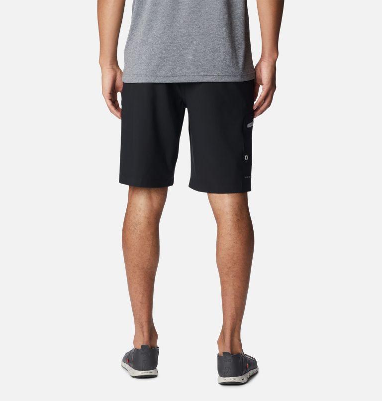 Terminal Tackle™ Short | 011 | 38 Men's PFG Terminal Tackle™ Shorts, Black, Cool Grey, back