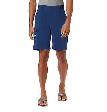 Men's PFG Terminal Tackle™ Shorts Terminal Tackle™ Short | 337 | 40, Carbon, Red Spark, front