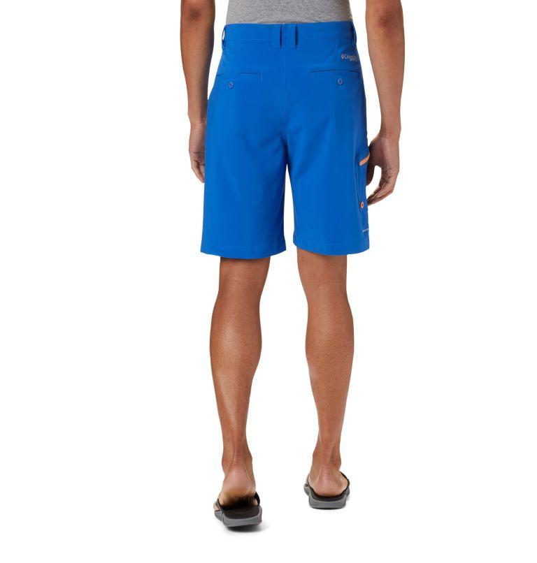 Terminal Tackle™ Short | 489 | 38 Men's PFG Terminal Tackle™ Shorts, Vivid Blue, Bright Nectar, back
