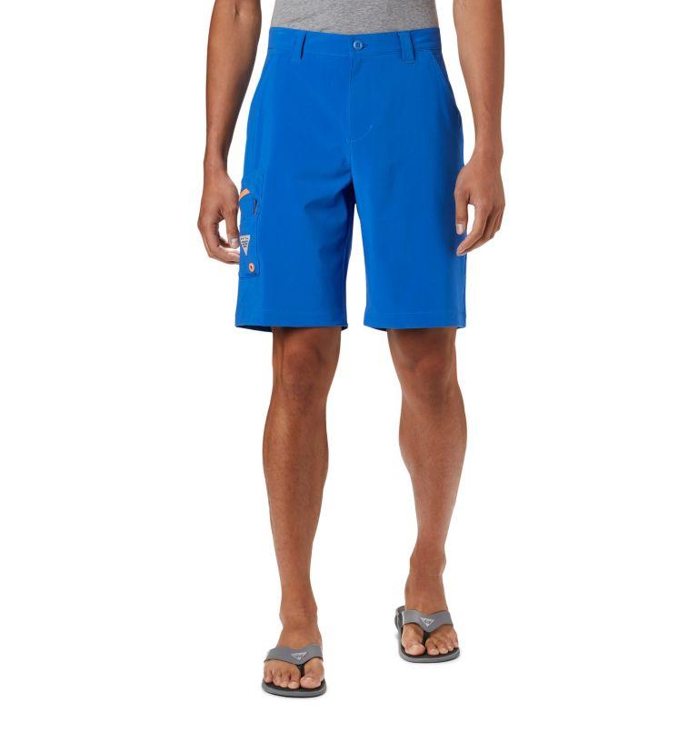 Terminal Tackle™ Short | 489 | 38 Men's PFG Terminal Tackle™ Shorts, Vivid Blue, Bright Nectar, front