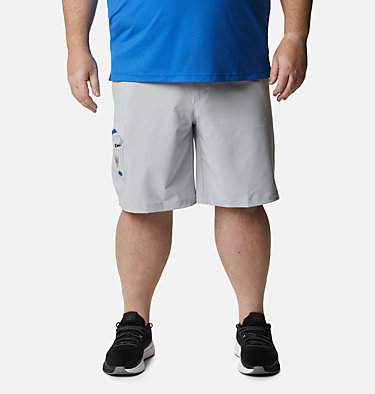 Men's PFG Terminal Tackle™ Shorts Terminal Tackle™ Short | 011 | 42, Cool Grey, Vivid Blue, front