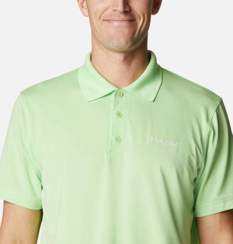 Skiff Cast™ Polo | 398 | XL Men's PFG Skiff Cast™ Polo, Lime Glow, a2