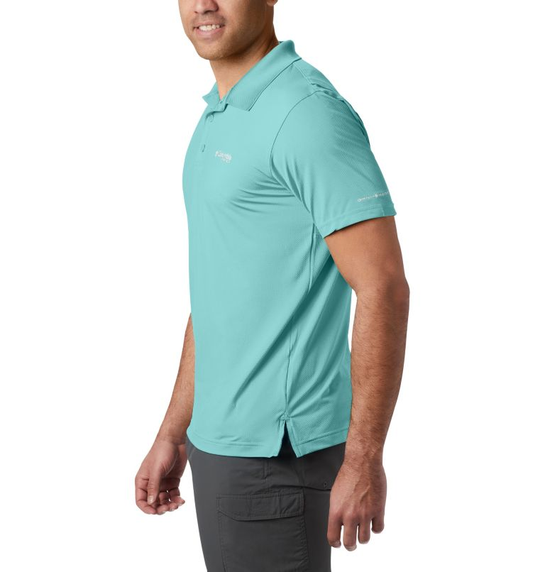 Skiff Cast™ Polo | 499 | XXL Men's PFG Skiff Cast™ Polo, Gulf Stream, a1