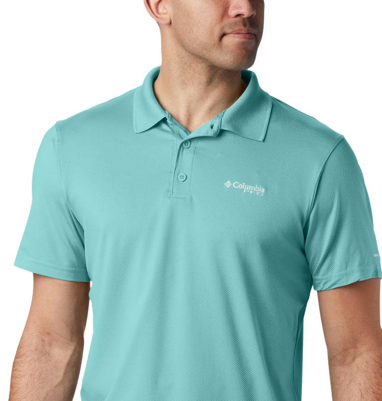 Skiff Cast™ Polo | 499 | XXL Men's PFG Skiff Cast™ Polo, Gulf Stream, a2
