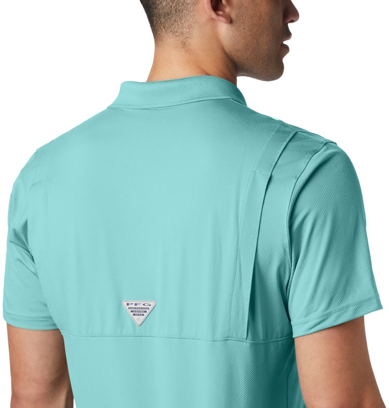Skiff Cast™ Polo | 499 | XXL Men's PFG Skiff Cast™ Polo, Gulf Stream, a3