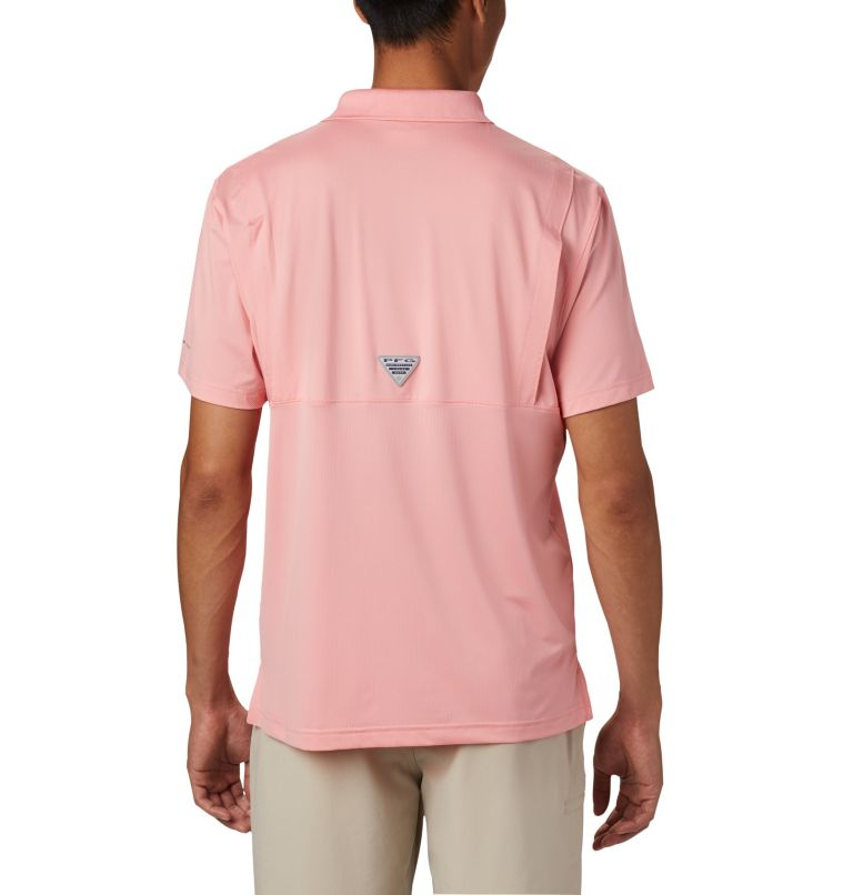 Skiff Cast™ Polo | 818 | XL Men's PFG Skiff Cast™ Polo, Sorbet, back