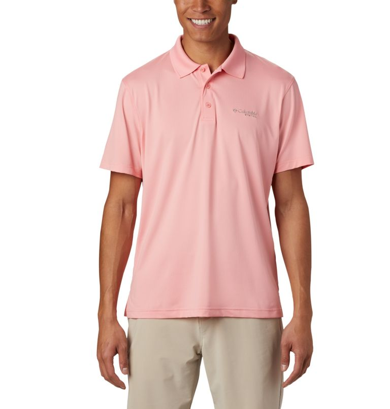 Skiff Cast™ Polo | 818 | XL Men's PFG Skiff Cast™ Polo, Sorbet, front