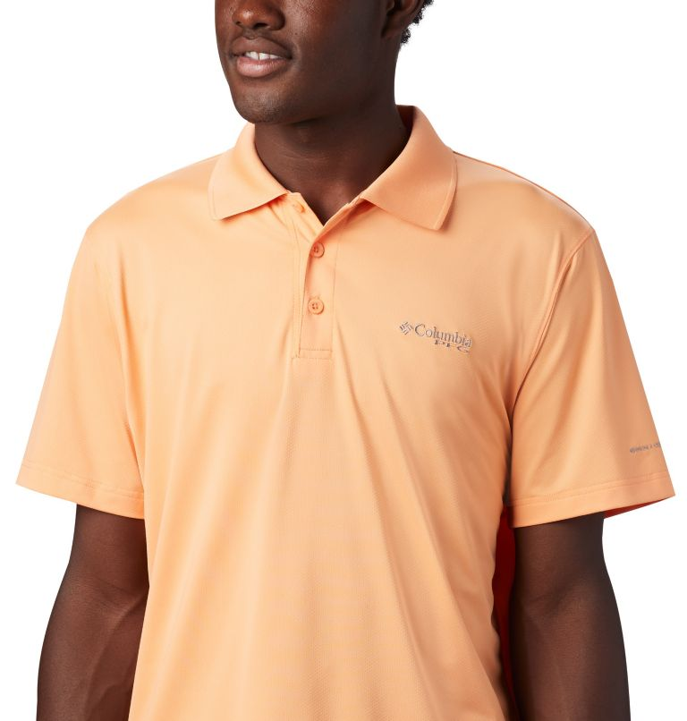 Skiff Cast™ Polo | 873 | XXL Men's PFG Skiff Cast™ Polo, Bright Nectar, a2