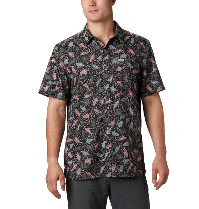 Men's PFG Super Slack Tide™ Camp Shirt – Big Men's PFG Super Slack Tide™ Camp Shirt – Big, front
