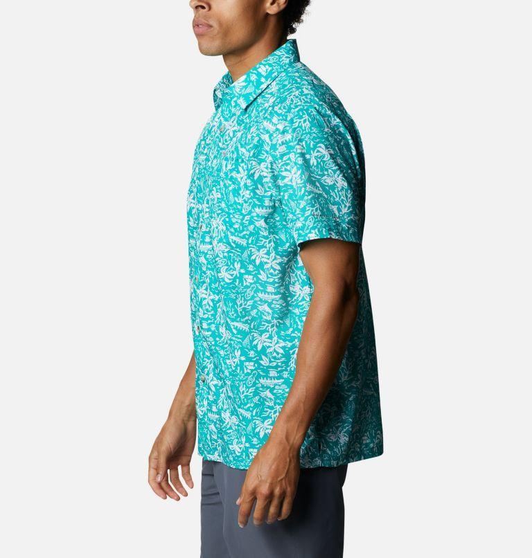 Super Slack Tide™ Camp Shirt | 361 | 3X Men's PFG Super Slack Tide™ Camp Shirt – Big, Tropic Water Kona Print, a1
