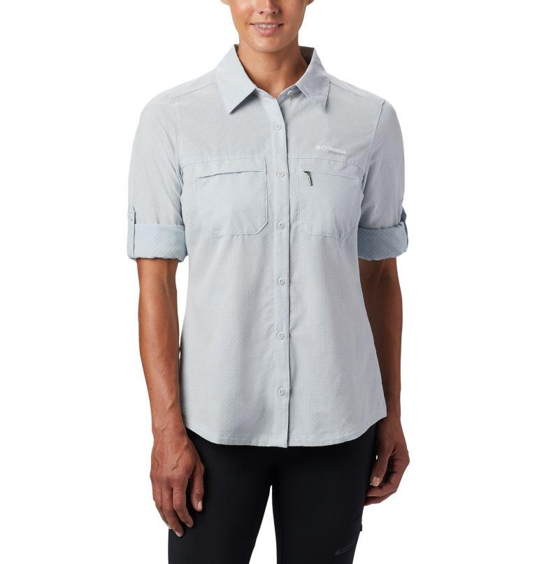 Irico™ Long Sleeve Shirt   031   XS Camicia a maniche lunghe Irico™ da donna, Cirrus Grey Heather, a1