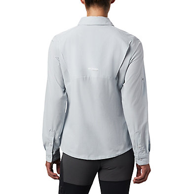 Irico™ langärmlige Hemdbluse Irico™ Long Sleeve Shirt | 627 | S, Cirrus Grey Heather, back