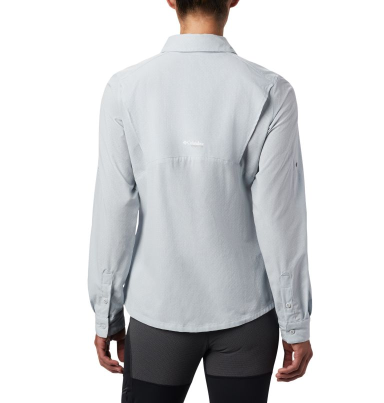 Irico™ Long Sleeve Shirt | 031 | XS Camicia a maniche lunghe Irico™ da donna, Cirrus Grey Heather, back