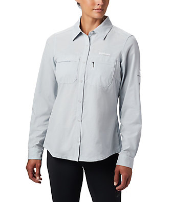 Women's Irico™ Shirt Irico™ Long Sleeve Shirt | 627 | S, Cirrus Grey Heather, front