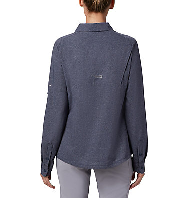 Irico™ langärmlige Hemdbluse Irico™ Long Sleeve Shirt | 627 | S, Nocturnal Heather, back