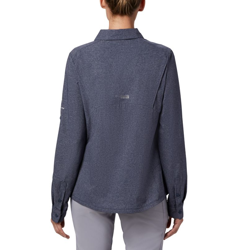 Irico™ Long Sleeve Shirt | 466 | M Women's Irico™ Shirt, Nocturnal Heather, back