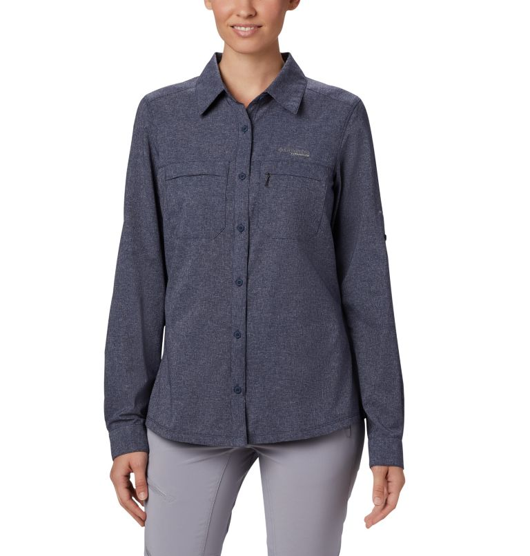 Irico™ Long Sleeve Shirt | 466 | M Women's Irico™ Shirt, Nocturnal Heather, front