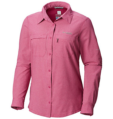 Women's Irico™ Shirt Irico™ Long Sleeve Shirt | 627 | S, Haute Pink Heather, front