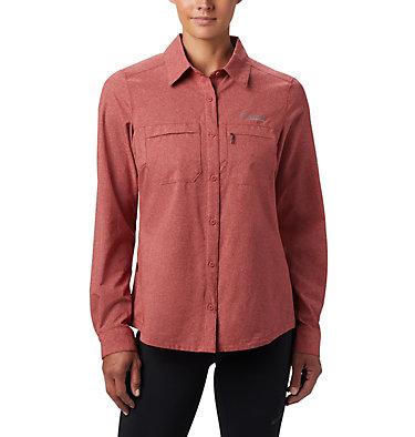 Chemise manches longues Irico™ pour femme Irico™ Long Sleeve Shirt | 466 | M, Dusty Crimson Heather, front