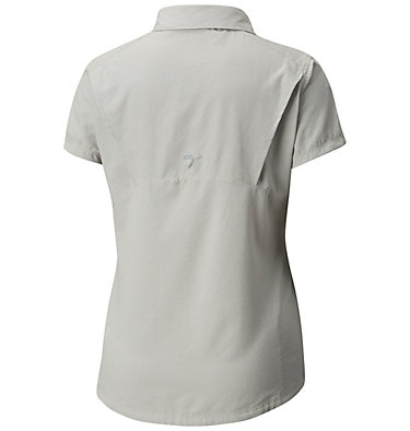 Women's Irico™ Short Sleeve Shirt Irico™ Short Sleeve Shirt | 027 | XS, Flint Grey Heather, back