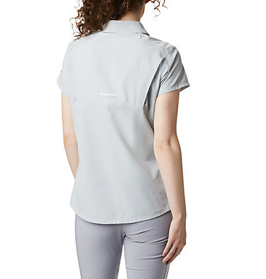 Women's Irico™ Short Sleeve Shirt Irico™ Short Sleeve Shirt | 027 | XS, Cirrus Grey Heather, back