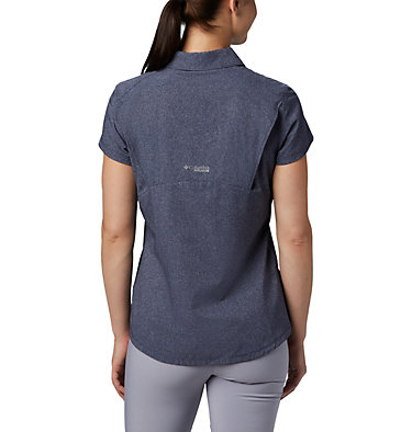 Women's Irico™ Short Sleeve Shirt Irico™ Short Sleeve Shirt | 027 | XS, Nocturnal Heather, back