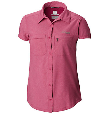 Women's Irico™ Short Sleeve Shirt Irico™ Short Sleeve Shirt | 027 | XS, Haute Pink Heather, front