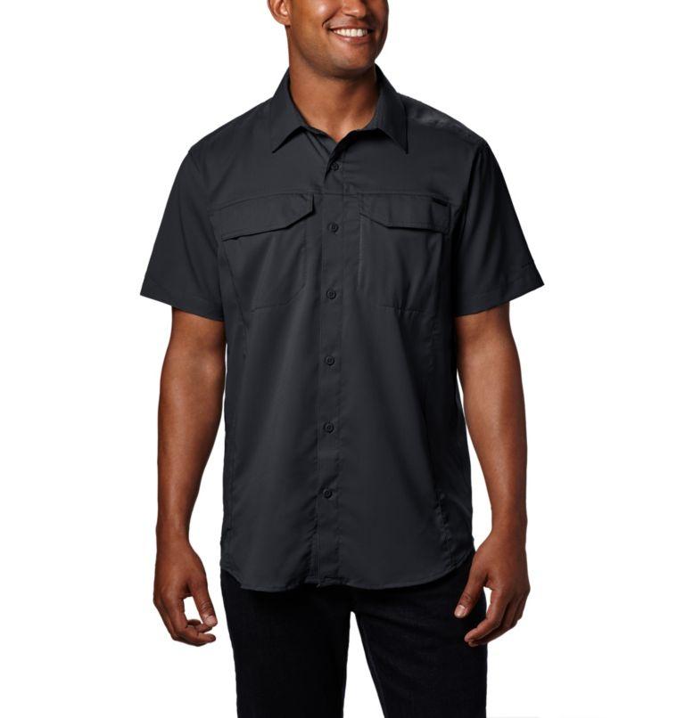 Silver Ridge Lite™ Short Sleeve Shirt | 010 | XL Men's Silver Ridge Lite™ Short Sleeve Shirt, Black, front