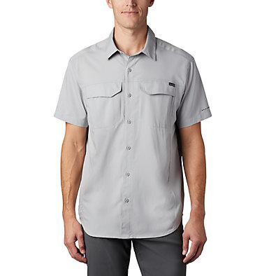 Men's Silver Ridge Lite™ Short Sleeve Shirt Silver Ridge Lite™ Short Sleeve Shirt | 040 | L, Columbia Grey, front