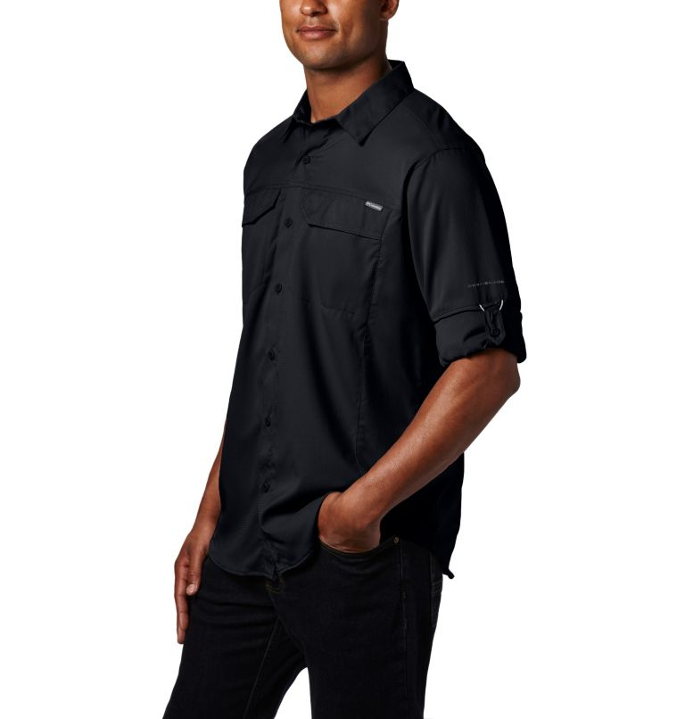 Silver Ridge Lite™ Long Sleeve Shirt | 010 | M Men's Silver Ridge Lite™ Long Sleeve Shirt, Black, a1