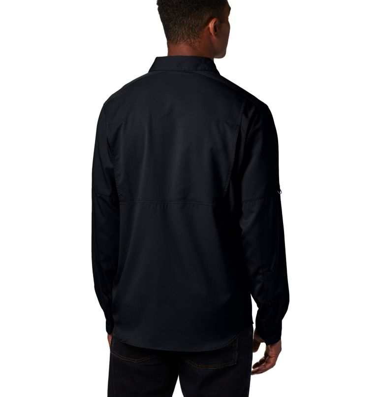 Silver Ridge Lite™ Long Sleeve Shirt | 010 | XL Men's Silver Ridge Lite™ Long Sleeve Shirt, Black, back