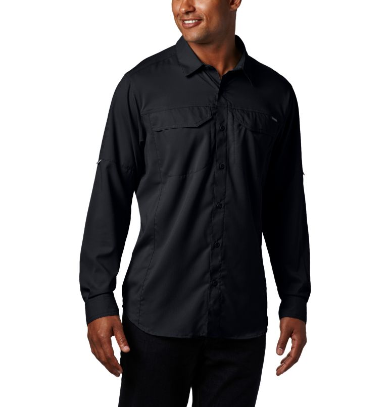 Silver Ridge Lite™ Long Sleeve Shirt | 010 | XL Men's Silver Ridge Lite™ Long Sleeve Shirt, Black, front