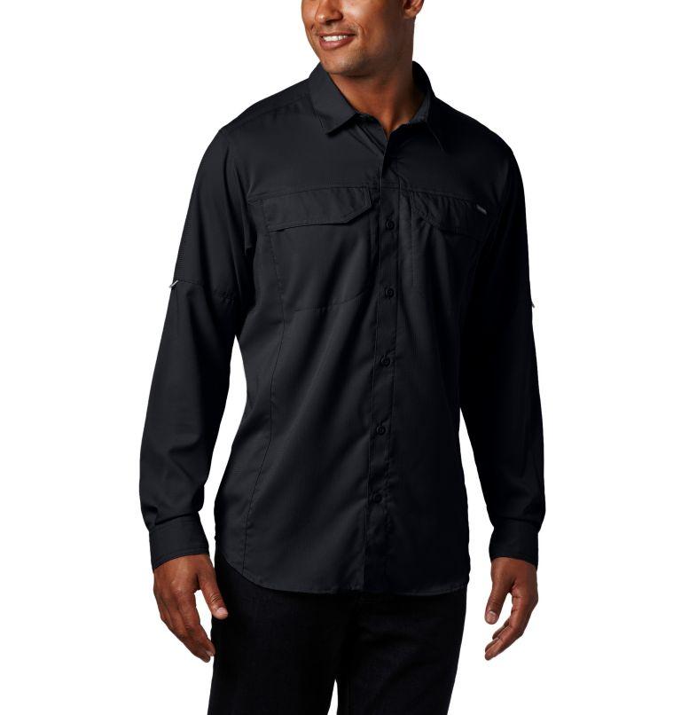 Silver Ridge Lite™ Long Sleeve Shirt | 010 | M Men's Silver Ridge Lite™ Long Sleeve Shirt, Black, front