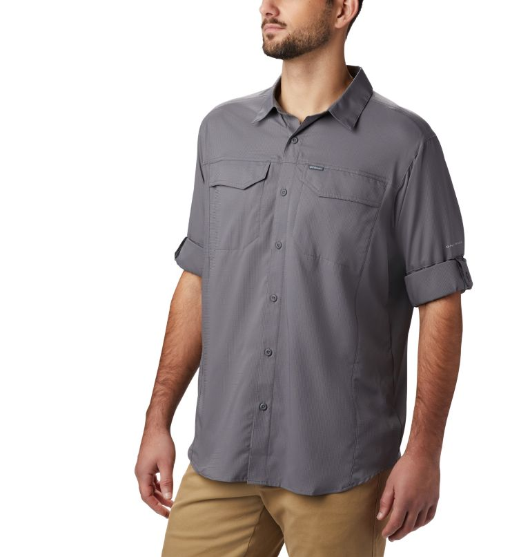 Silver Ridge Lite™ Long Sleeve Shirt | 023 | M Men's Silver Ridge Lite™ Long Sleeve Shirt, City Grey, a1