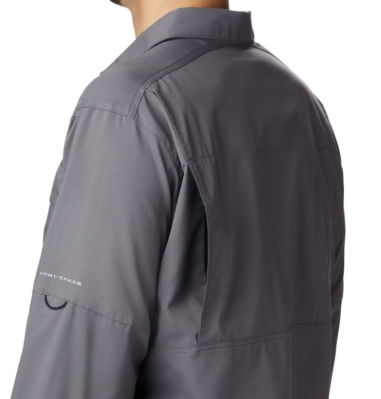 Silver Ridge Lite™ Long Sleeve Shirt | 023 | M Men's Silver Ridge Lite™ Long Sleeve Shirt, City Grey, a2