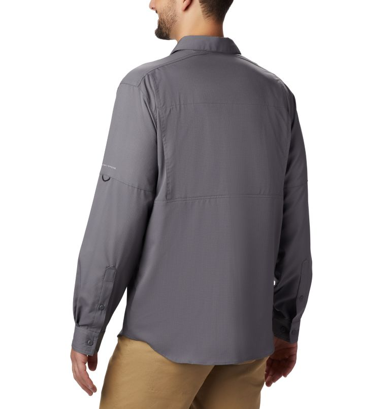 Silver Ridge Lite™ Long Sleeve Shirt | 023 | M Men's Silver Ridge Lite™ Long Sleeve Shirt, City Grey, back