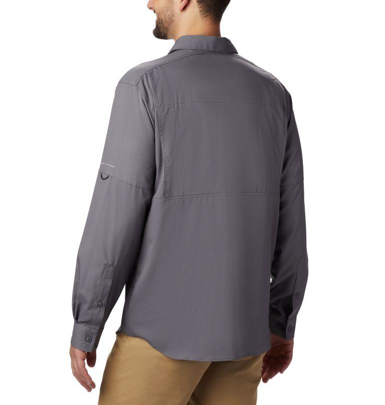 Silver Ridge Lite™ Long Sleeve Shirt | 023 | L Men's Silver Ridge Lite™ Long Sleeve Shirt, City Grey, back