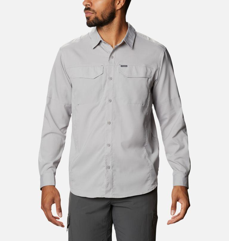 Silver Ridge Lite™ Long Sleeve Shirt   039   M Men's Silver Ridge Lite™ Long Sleeve Shirt, Columbia Grey, front