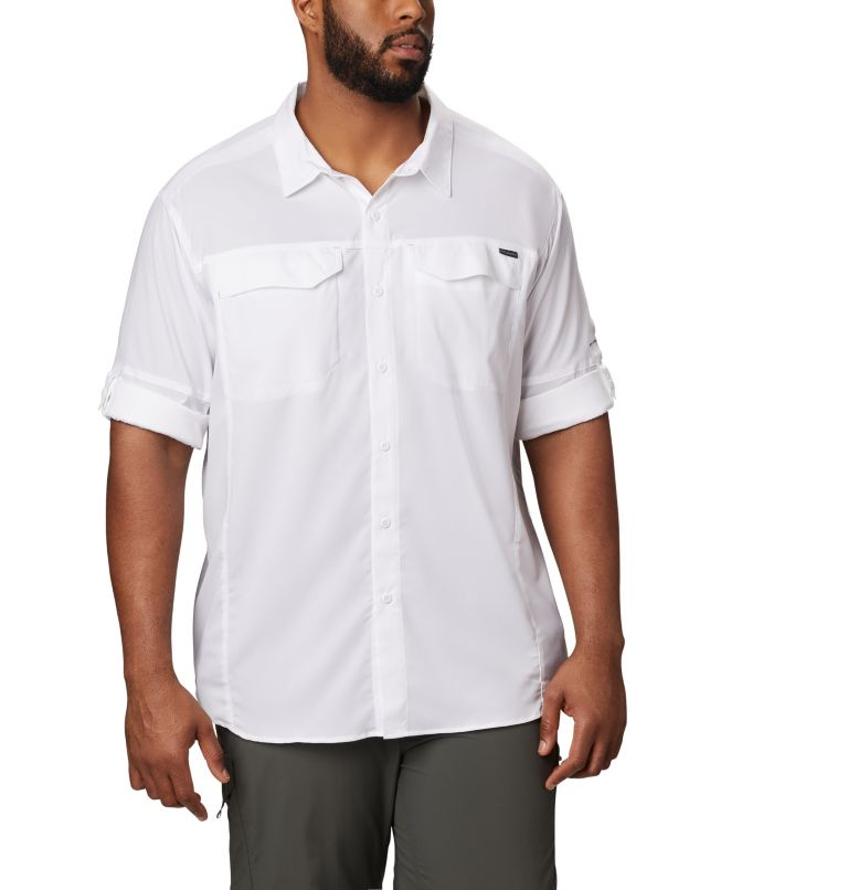 Silver Ridge Lite™ Long Sleeve Shirt | 100 | XL Men's Silver Ridge Lite™ Long Sleeve Shirt, White, a1