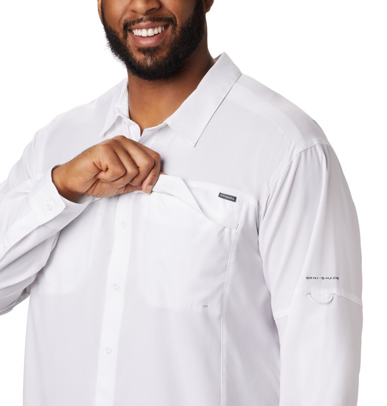 Silver Ridge Lite™ Long Sleeve Shirt | 100 | XL Men's Silver Ridge Lite™ Long Sleeve Shirt, White, a2