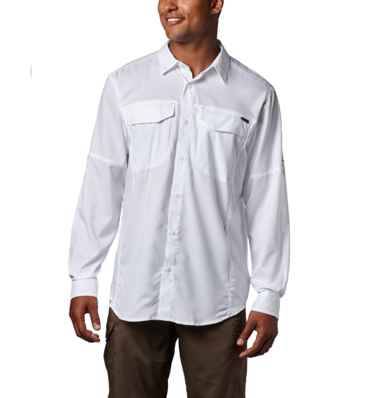 Silver Ridge Lite™ Long Sleeve Shirt | 100 | XL Men's Silver Ridge Lite™ Long Sleeve Shirt, White, a4