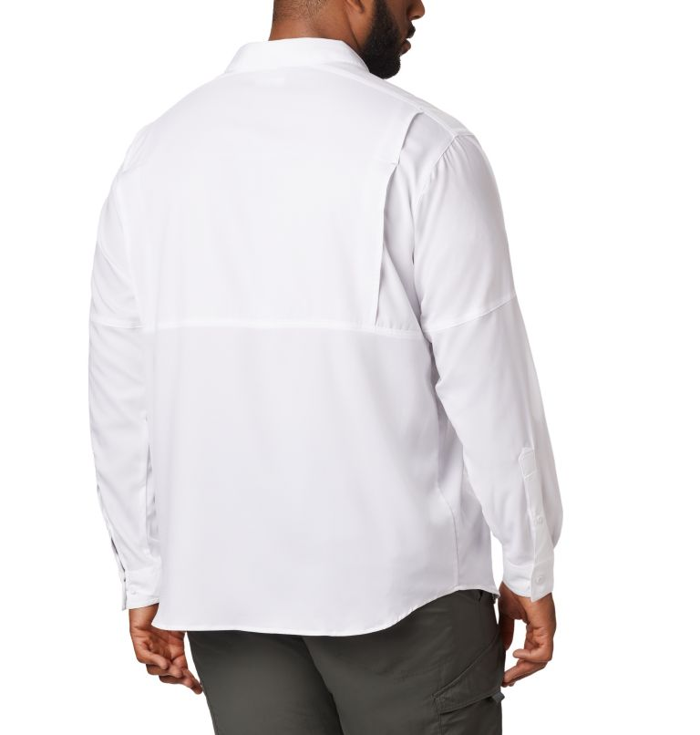 Silver Ridge Lite™ Long Sleeve Shirt | 100 | XL Men's Silver Ridge Lite™ Long Sleeve Shirt, White, back