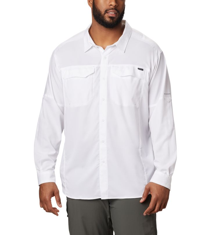Silver Ridge Lite™ Long Sleeve Shirt | 100 | XL Men's Silver Ridge Lite™ Long Sleeve Shirt, White, front
