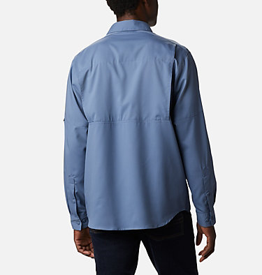 Men's Silver Ridge Lite™ Long Sleeve Shirt Silver Ridge Lite™ Long Sleeve Shirt | 446 | XL, Bluestone, back
