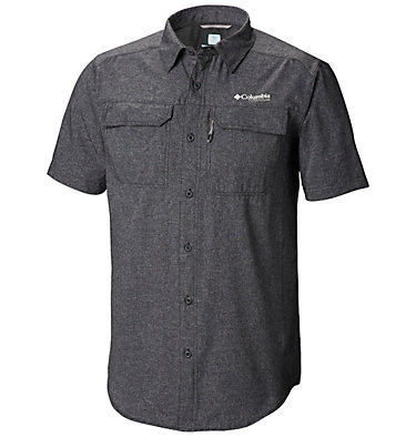 Men's Irico™ Short Sleeve Shirt Irico™ Men's Short Sleeve Shir | 011 | S, Black Heather, front