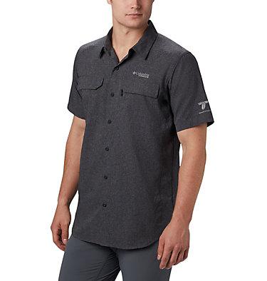 Men's Irico™ Short Sleeve Shirt Irico™ Men's Short Sleeve Shirt   369   M, Black, front