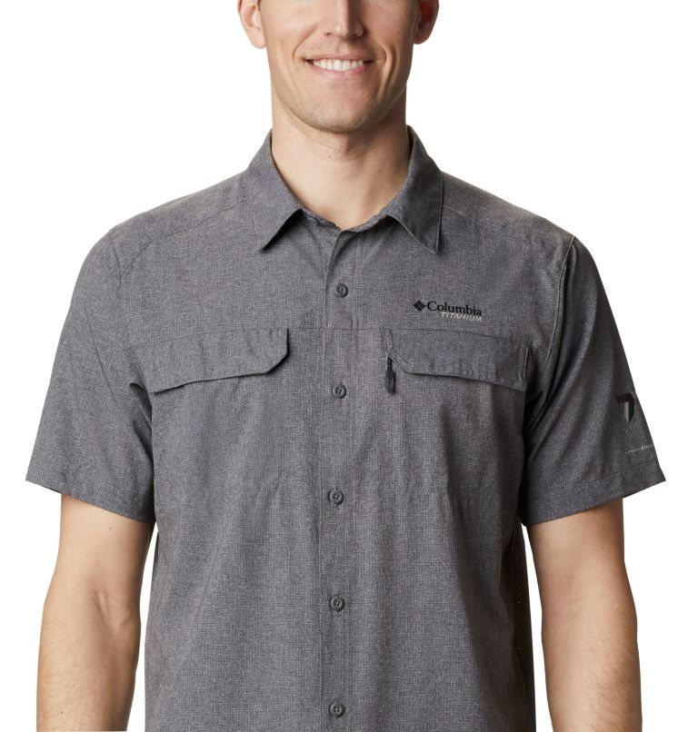 Irico™ Men's Short Sleeve Shirt | 023 | XL Men's Irico™ Short Sleeve Shirt, City Grey, a2