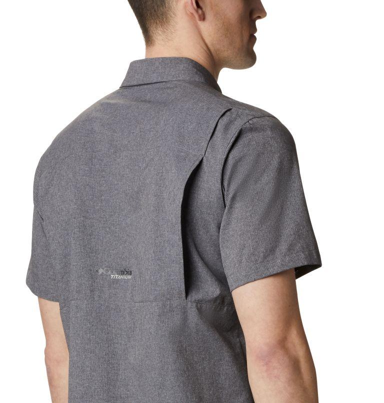 Irico™ Men's Short Sleeve Shirt | 023 | XL Men's Irico™ Short Sleeve Shirt, City Grey, a3